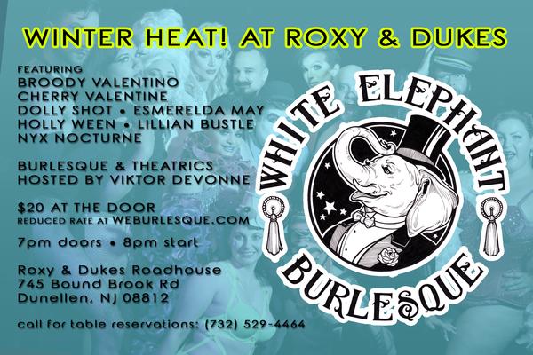 WEBurlesque at Roxy & Dukes